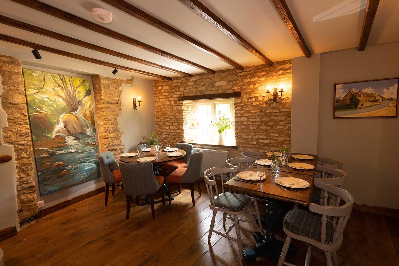 Dining in the Far Bar